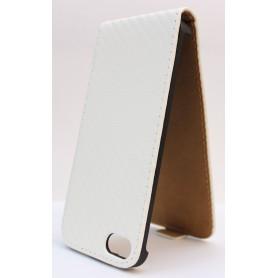Apple iPhone 5 valkoinen läppäkotelo.