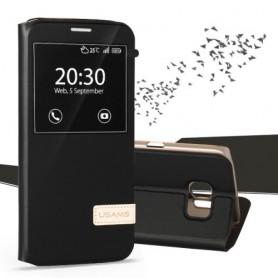 Samsung Galaxy S7 edge musta ikkunakuori