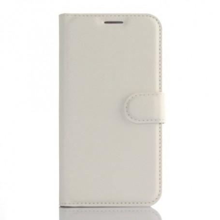 Samsung Galaxy S7 edge valkoinen puhelinlompakko