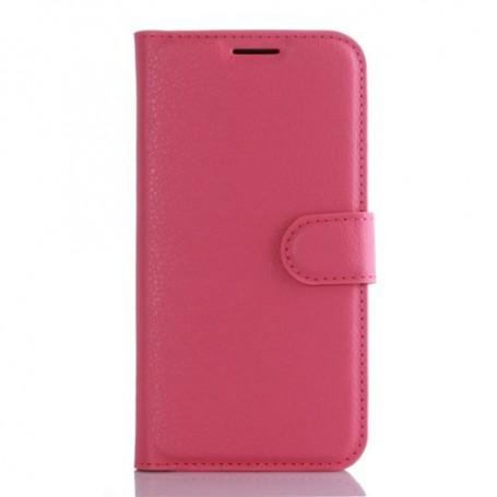 Samsung Galaxy S7 edge pinkki puhelinlompakko