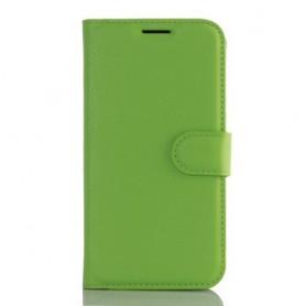 Samsung Galaxy S7 edge vihreä puhelinlompakko