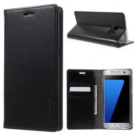 Samsung Galaxy S7 edge musta puhelinlompakko