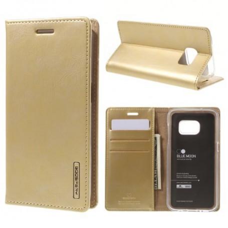 Samsung Galaxy S7 samppanjan kultainen puhelinlompakko