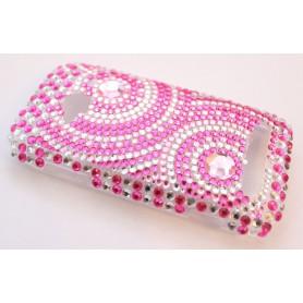 Lumia 710 pinkit ympyrät bling kuoret.