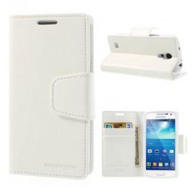 Samsung Galaxy S4 valkoinen puhelinlompakko