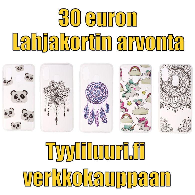 Osallistu 30 euron tyyliluuri.fi lahjakortin arvontaan.