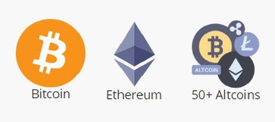 Bitcoin ja altcoin maksaminen.